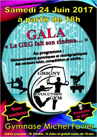 Gala de fin d'année samedi 24 juin 2017