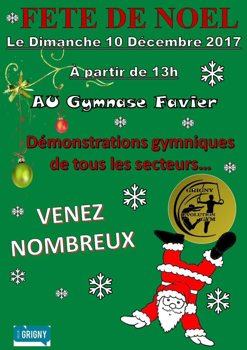 Gala de Noël du dimanche 10 décembre 2017
