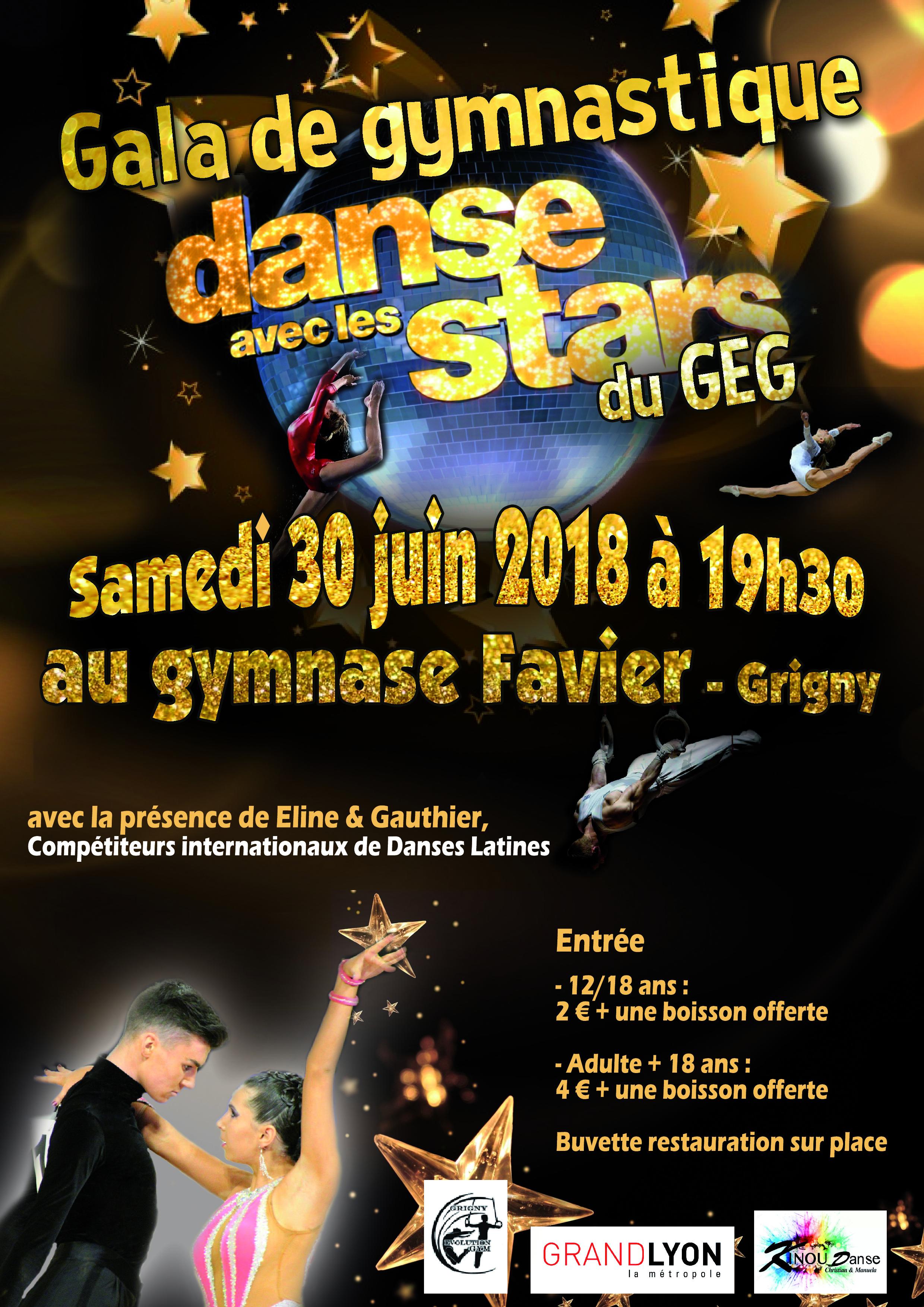 Gala de fin d'année samedi 30 juin 2018
