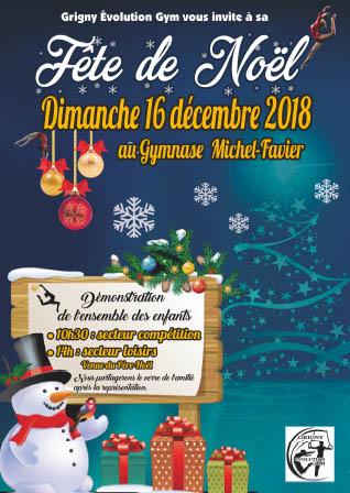 Gala de Noël dimanche 16 décembre 2018
